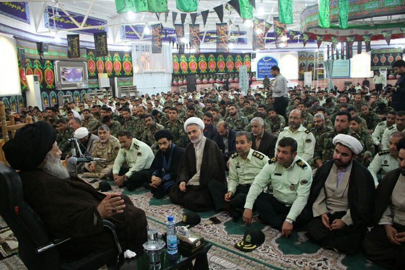 بیانات در دیدار فرماندهان و کارکنان فرماندهی انتظامی استان خوزستان