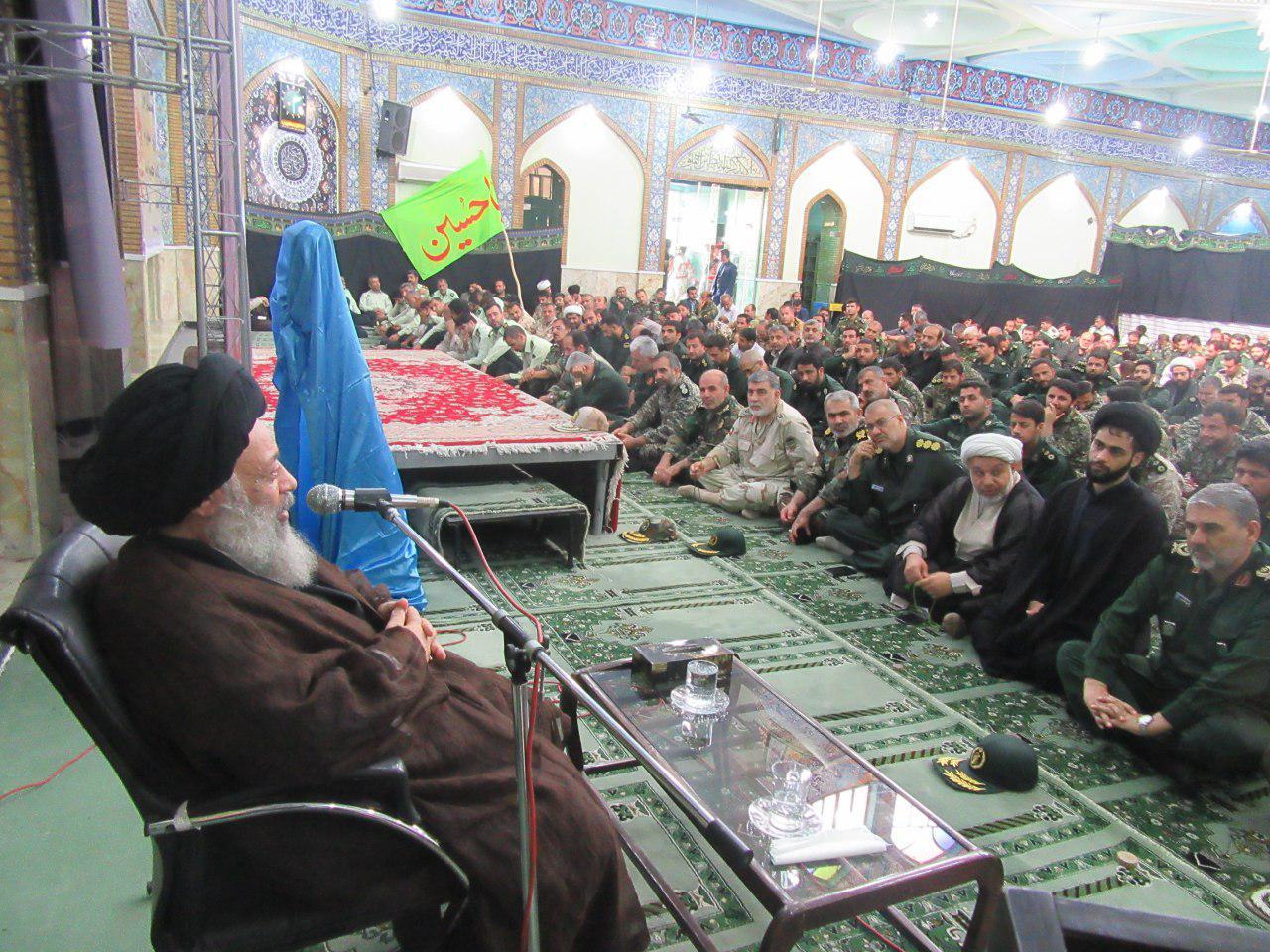 مشروح بیانات در دیدار فرماندهان نیروهای مسلح در استان خوزستان