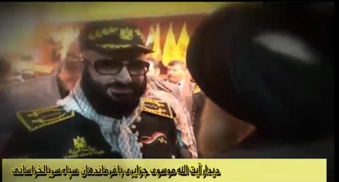 دیدار آیت الله موسوی جزایری با فرماندهان سرایا الخراسانی