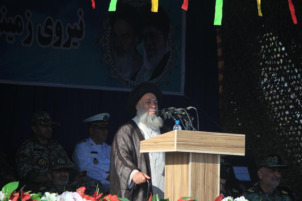 سخنرانی به مناسبت روز ارتش در اهواز