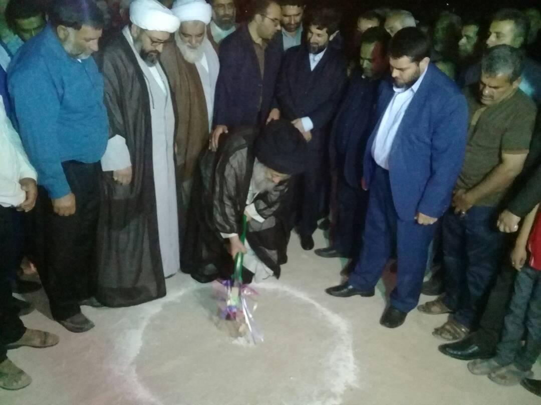 افتتاح مسجد الرسول سخیریه به مناسبت نیمه شعبان
