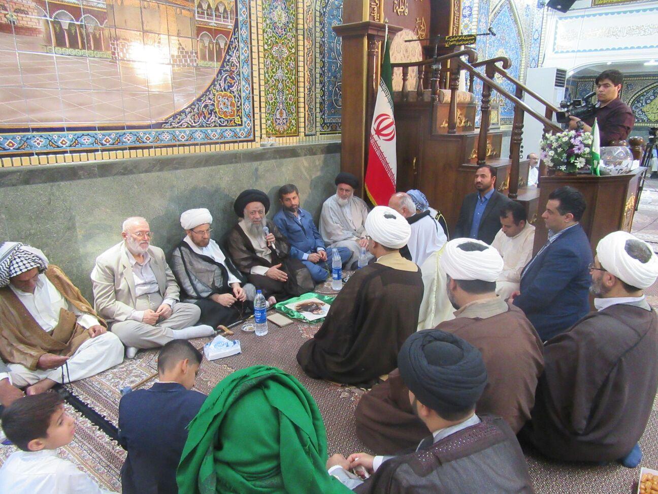 بیانات در حسینیه ام البنین(س) به مناسبت ولادت امام حسن مجتبی(ع)
