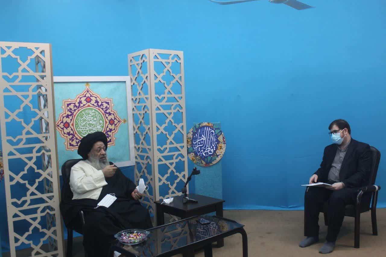 دیدار ایت الله جزایری با رییس جهاد دانشگاهی خوزستان
